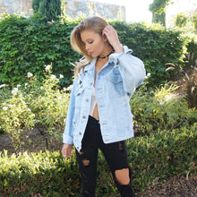 The Perfect Pearl Denim Jacket