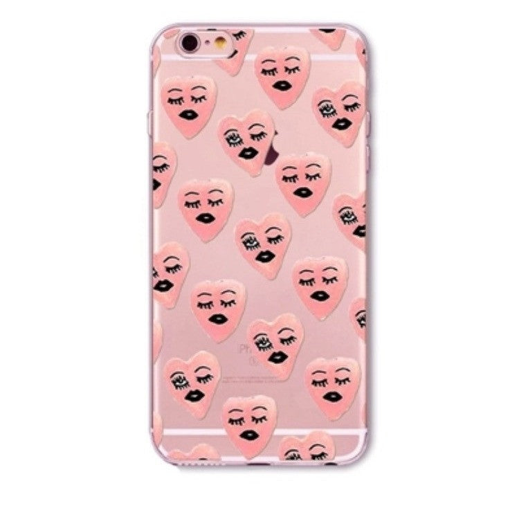 Wink Wink In Pink Cell Phone Case