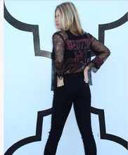 Stairway To Heaven Led Zeppelin Lace Cardigan