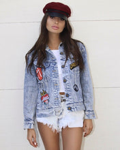 Rock N Roll Fever Stone Wash Denim Jacket