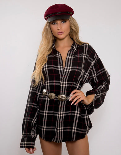 Up All Night Guns N Roses Flannel