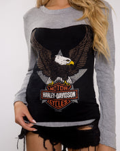 In The Fast Lane Harley Long Sleeve Top