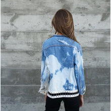 Only With Me Vintage Acid Wash Jacket