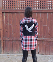 Trust Your Instincts Eagle Flannel
