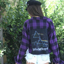 Over The Rainbow Pink Floyd Flannel