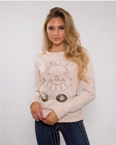 Let's Chill Guns N Roses Sweatshirt