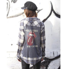 Waiting On A Friend Rolling Stones Flannel