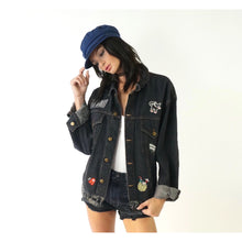 Give Me A Call Patch Denim Jacket
