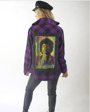 Purple Haze JIMI HENDRIX Flannel