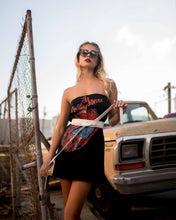 Hot Night Out Rolling Stones Mini Dress