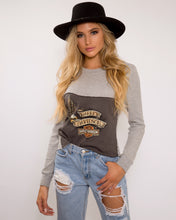 Go Fast Or Be Last Harley  Davidson Long Sleeve Top
