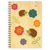 Night Owl Hazel Hedgehog Journal