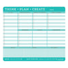 Peter Pauper Think - Plan - Create Notepad