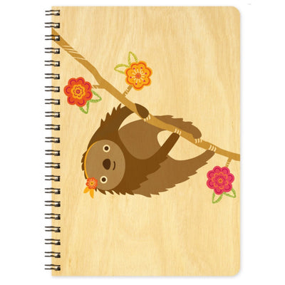 Night Owl Sylvie Sloth Journal