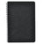 Clairfontaine Age Bag Wirebound Ruled Notebook - Black