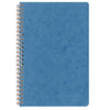 Clairfontaine Age Bag Wirebound Ruled Notebook - Blue