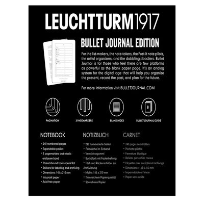 Leuchtturm1917 Bullet Journal - Black