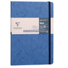 Clairfontaine My Essential Age Bag Stitched Ruled Notebook - Blue
