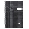 Clairfontaine Classic Wirebound Ruled Notebook - Black