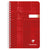Clairfontaine Classic Wirebound Ruled Notebook - Red