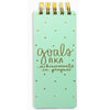 Dayna Lee Collection by Eccolo Mint Goals Notepad