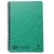 Clairfontaine Europa Wirebound Ruled Notebook - Green