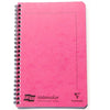Clairfontaine Europa Wirebound Ruled Notebook - Pink