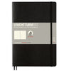 Leuchtturm1917 Dotted B5 Softcover Notebook - Black