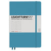 Leuchtturm1917 Ruled A5 Hardcover Notebook - Nordic Blue