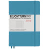 Leuchtturm1917 A5 2018 Weekly Planner & Notebook - Nordic Blue