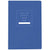 Public Supply 7x10 Notebook - Blue
