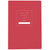 Public Supply 7x10 Notebook - Red