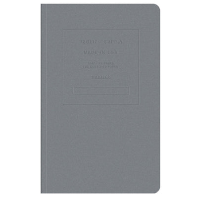 Public Supply Embossed Collection - Steel Grey
