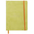 Rhodiarama Softcover A5 Lined Notebook Anise
