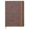 Rhodiarama Softcover A5 Lined Notebook Chocolate