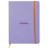 Rhodiarama Softcover A5 Lined Notebook Iris