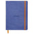 Rhodiarama Softcover A5 Lined Notebook Sapphire