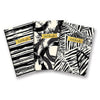 Studio Oh Ebony & Ivory Abstract Notebook Trio