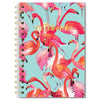 Studio Oh Flamboyance of Flamingos Spiral Notebook