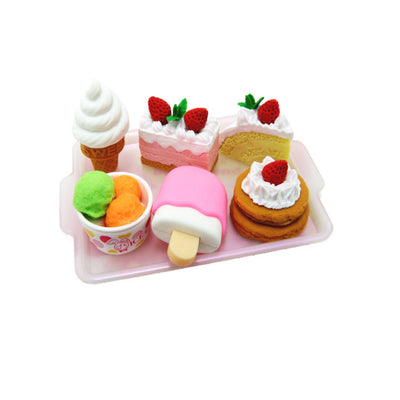 Iwako Dessert Eraser Set with Tray