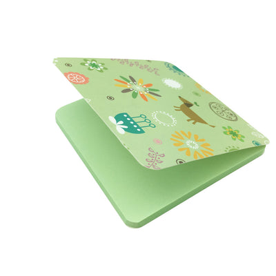 Square Sticky Note Paper - Green
