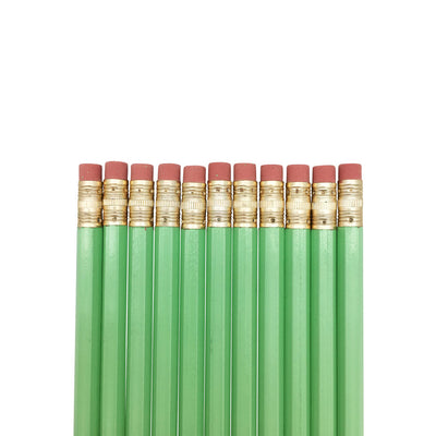 Preppy Prodigy Pencils - Pastel Green