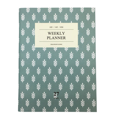 Mint Weekly Planner