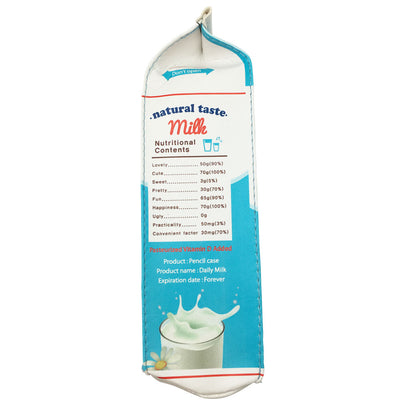 Organic Milk Carton Pencil Case