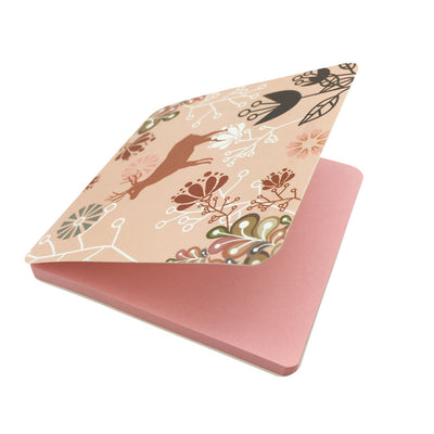 Square Sticky Note Paper - Pink