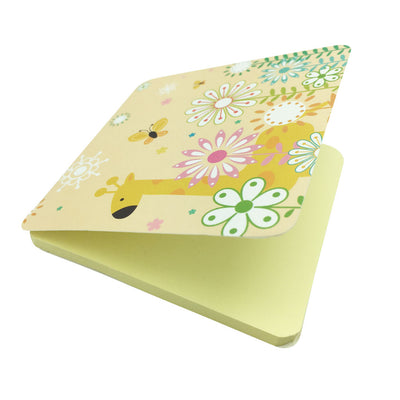 Square Sticky Note Paper - Yellow