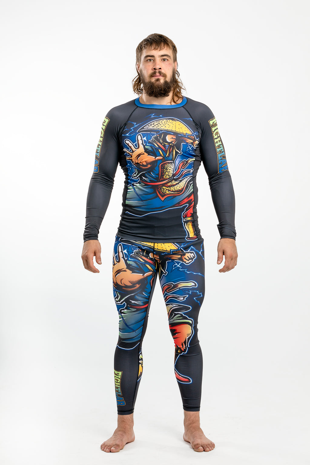"Fightlab ""Ninja Warrior"" Compression Spats (Spats Only)"