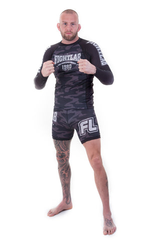 "Muay Thai MMA K1 ""Impact"" Rash Guard Camo"