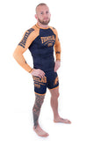 "Muay Thai MMA K1 ""Impact"" Rash Guard Blue"
