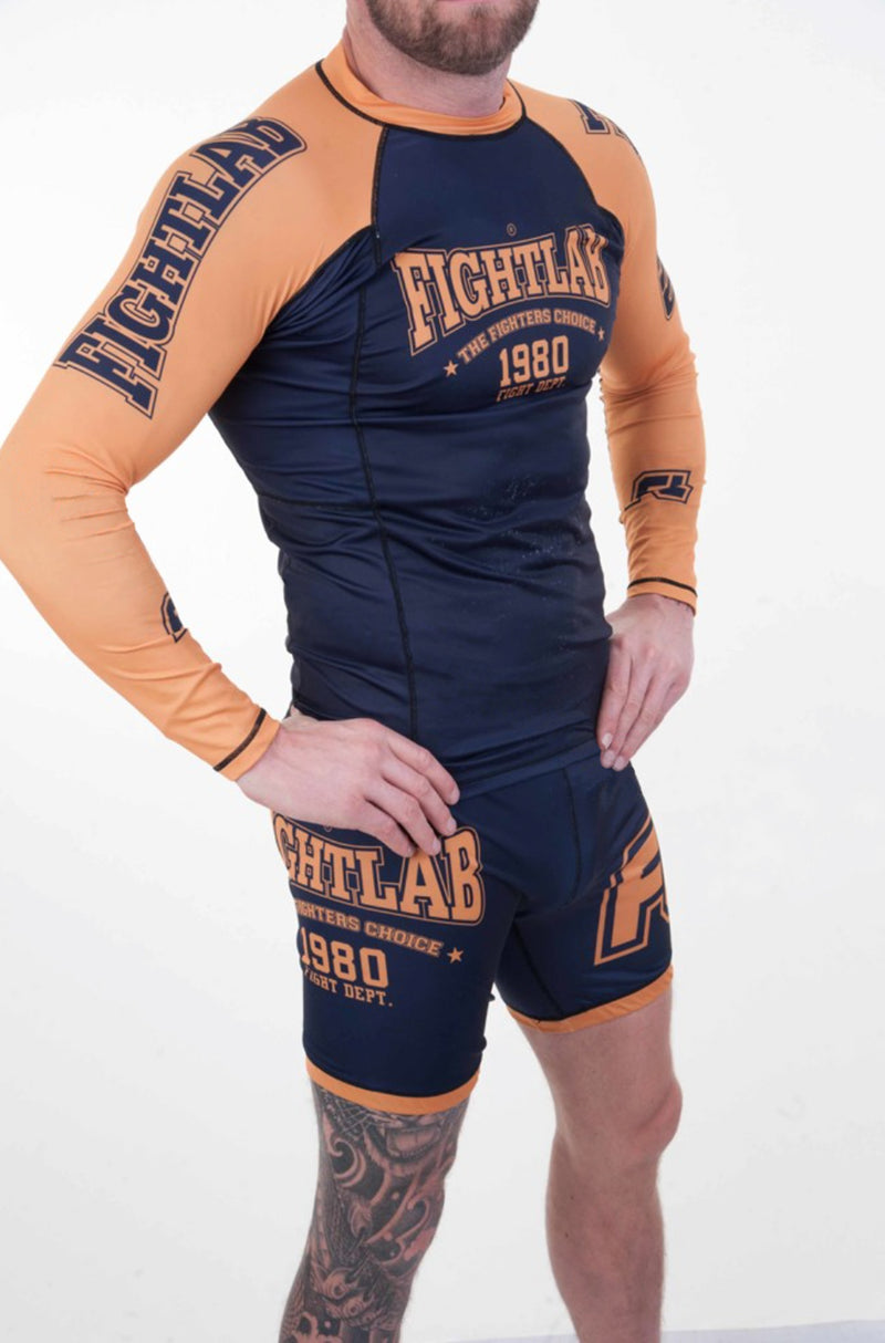 Impact Bjj Rash Guard Blue